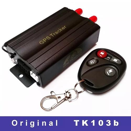 rastreador gps bloqueador veicular original on tk-103b