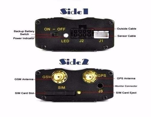rastreador gps bloqueador veicular original on/off tk103b