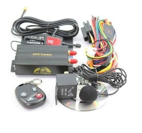 rastreador gps bloqueador veicular tk-103b controle remoto