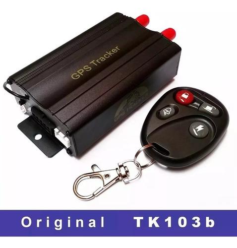 rastreador gps bloqueador veicular tk-103b original oferta