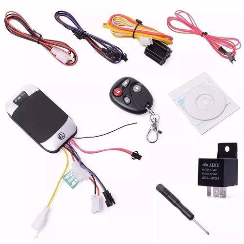 rastreador gps e bloqueador veicular tk-303g +controle