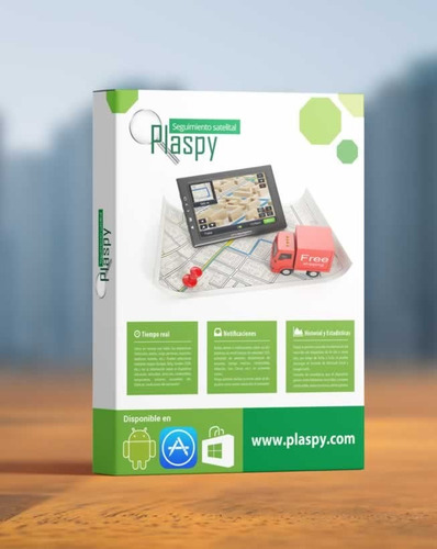rastreador, localizador gps vehiculo+1 año plataforma plaspy