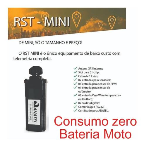 rastreador para moto homologado anatel + chipm2m + app