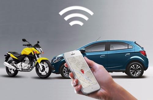 rastreador portátil p/ caminhões -motos- bicicletas - carros