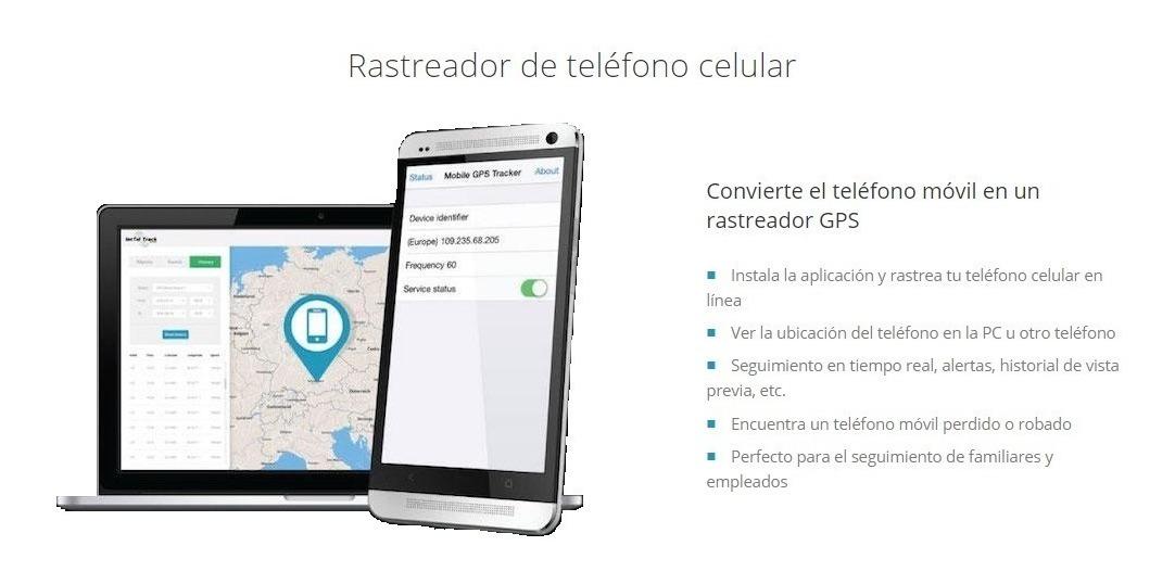 Rastreador de celulares por facebook