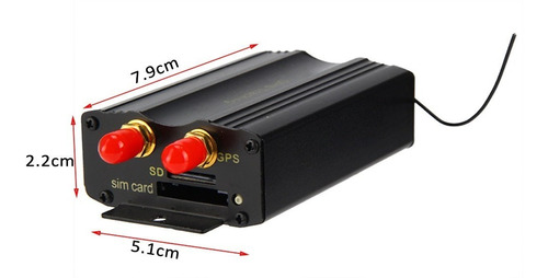 rastreador tk103b veículo gps controle remoto cartão sd gps