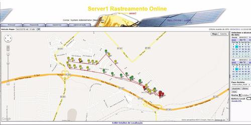 rastreador veicular - mensalidade (sistema de rastreamento)