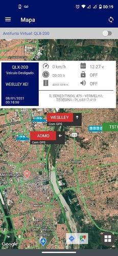 rastreamento veicular e  bloqueador gps  via satelite 24h