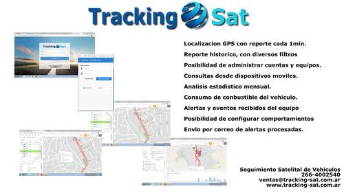 rastreo satelital de vehículos, flotas, motos y bicis