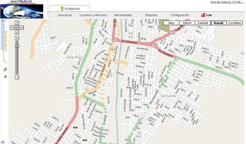 rastreo satelital en tiempo real, mapas actualizados ecuador