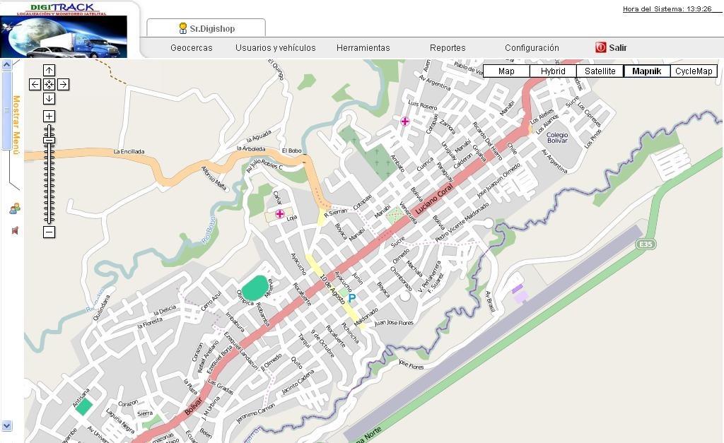 Rastreo Satelital En Tiempo Real, Mapas Actualizados Ecuador - U$S ...