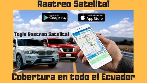 rastreo satelital para vehiculos togio - cobertura ecuador