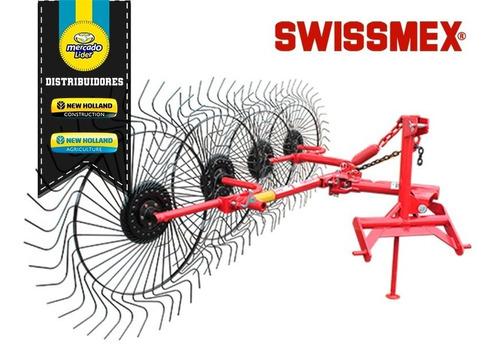 rastrillo cosechadora agrícola de caña 4 aros swissmex