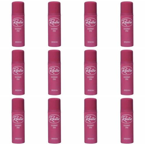 rastro desodorante spray 90g (kit c/12)