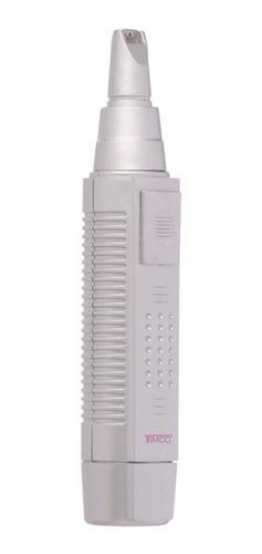 rasuradora 3 cabezas recortador para nariz y orejas rms-b
