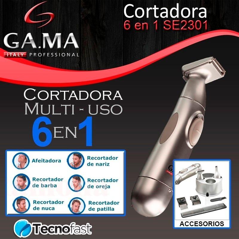 Rasuradora Afeitadora Hombre Gama Italy 6 En 1 -   499.00 en Mercado ... e4c72408c938