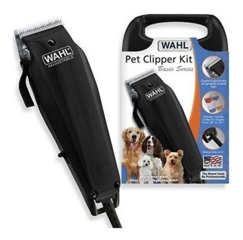 rasuradora corta pelo casera para perros mascotas wahl original negra
