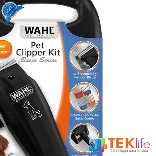 rasuradora corta pelo para perros mascotas wahl 10 piezas
