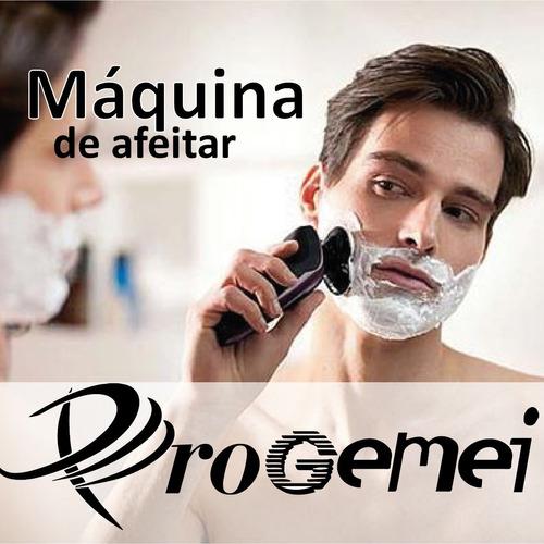 rasuradora electrica para barba hombres gemei / impoluz
