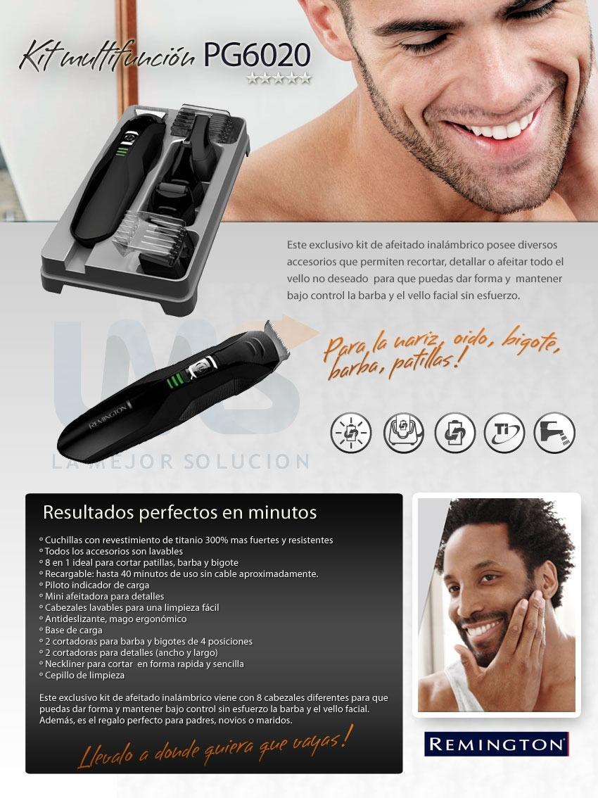 rasuradora recargable remington corta barba bigote vello. Cargando zoom. b077a2727b27