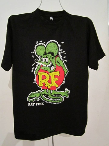 rat fink playera