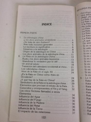 rata, astrología china, michèle curcio