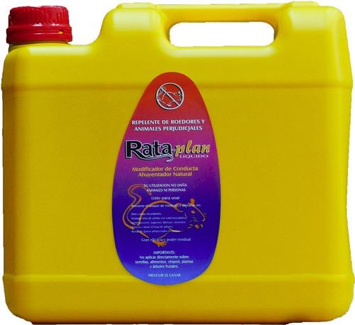 rataplan repelente premium para roedores y alimañas 2 litros