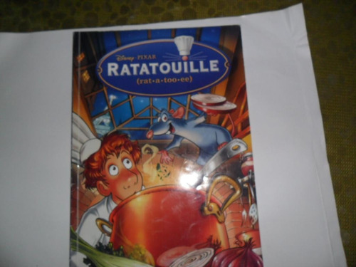 ratatouille rat-a-too-ee disney pixar comic historieta 2007