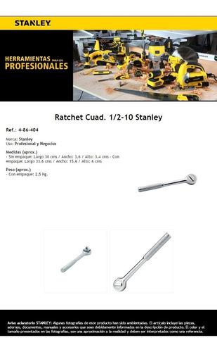 ratchet 1/2 pul encastre ? 10 pul largo (254 mm) 4-86-404