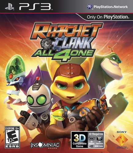 ratchet and clank ps3 juego