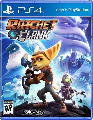 ratchet and clank ps4 juego fisico en español caja de carton