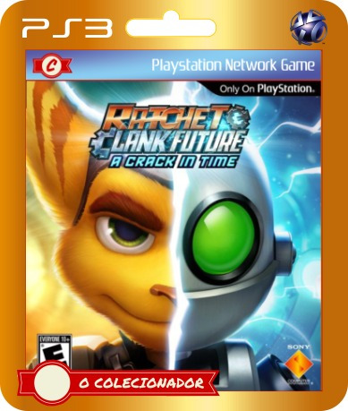 ratchet & clank future: a crack in time (código id ps3)