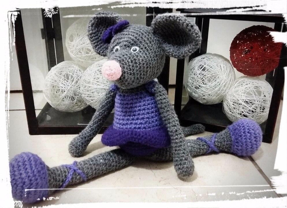 Ratita | Crochet dolls, Crochet mouse, Crochet toys | 720x994
