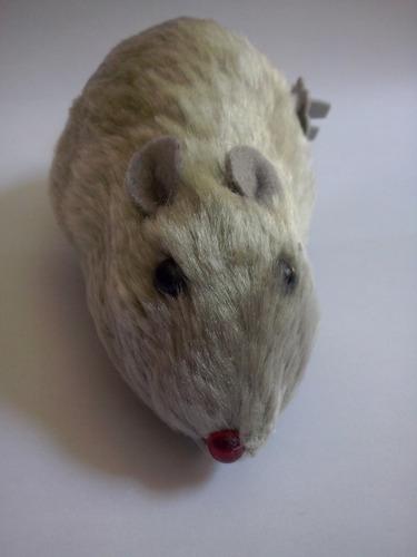 rato brinquedo assustador e divertido anda sozinho fricção