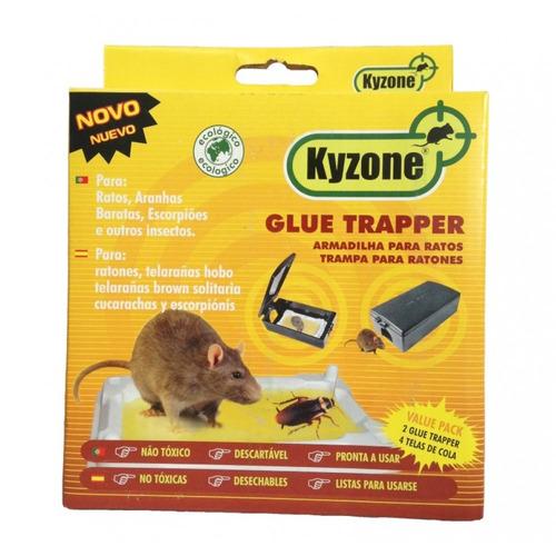 ratoeira adesiva armadilha cola para rato barata escorpião