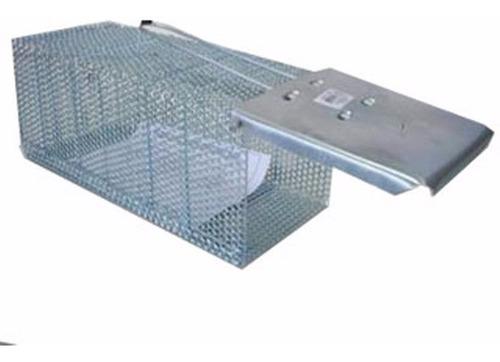 ratoeira gaiola grande em aço alçapão para capturar ratos