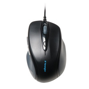 ratón de tamaño completo kensington, usb / ps2, negro
