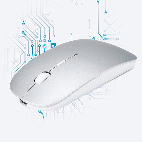 ratón inalámbrico bluetooth recargable - slim