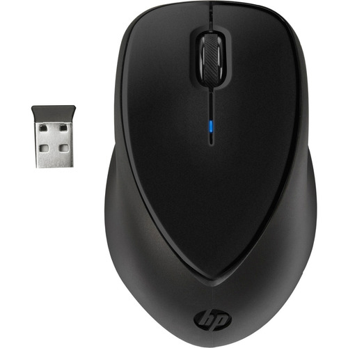 ratón inalámbrico hp comfort grip, 2.4ghz, 10m max, usb nano