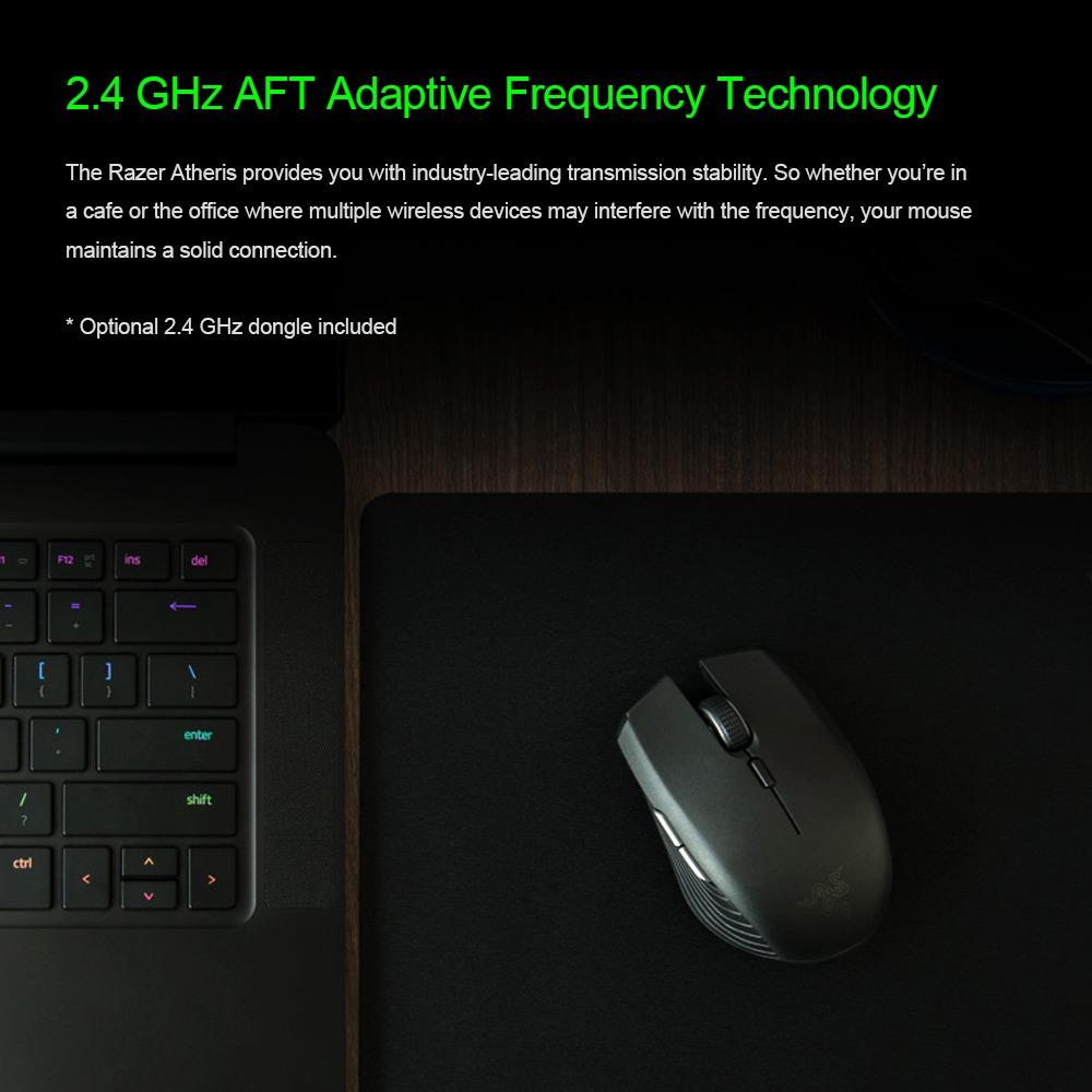Ratón Inalámbrico Para Juegos Razer Atheris Bluetooth