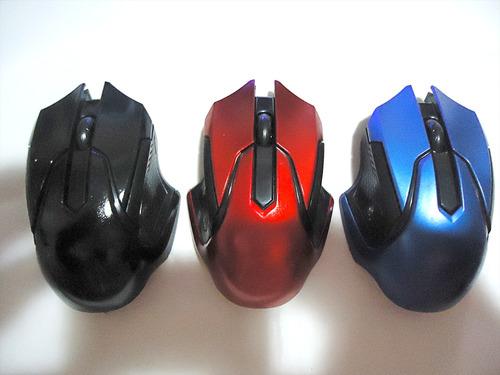 raton mouse gamers inalambrico variados colores 1600dpi