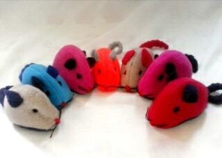 raton para gatos de peluche yokko mascotas