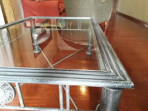 ratona vidrio mesa