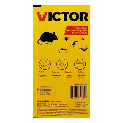ratonera grande con pegamento m319i victor