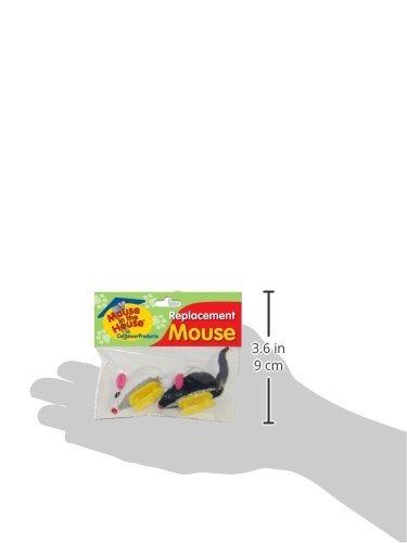 ratones de reemplazo cat dancer para ratón en la casa cat to