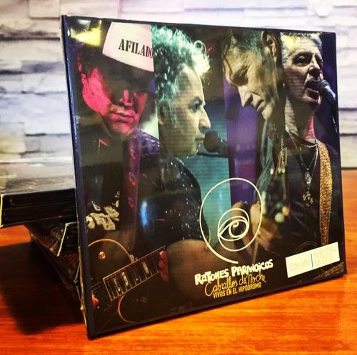 ratones paranoicos caballos de noche vivo hipodromo cd + dvd