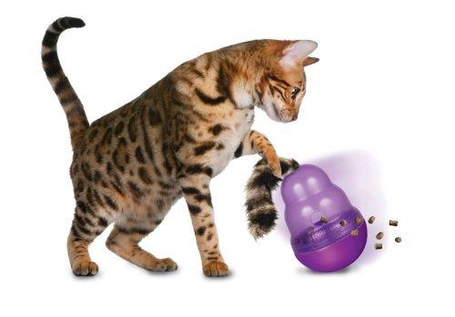 ratones y juguetes de animalesgato kong wobbler, tratar d..