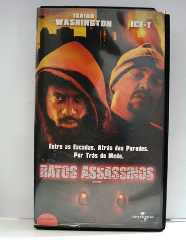ratos assassinos  vhs*