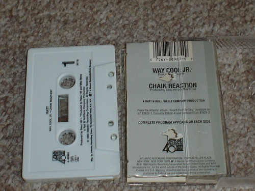 ratt cassette way cool jr.