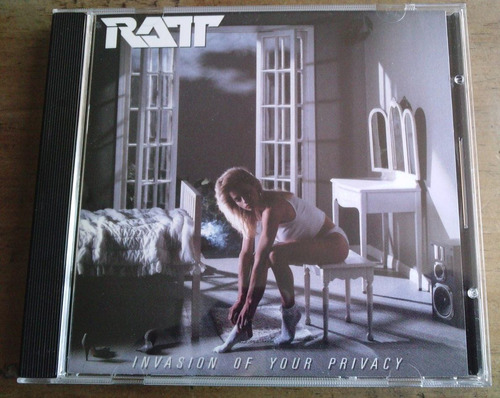 ratt invasion of your privacy cd u.s.a. 1a ed 1985 c/booklet